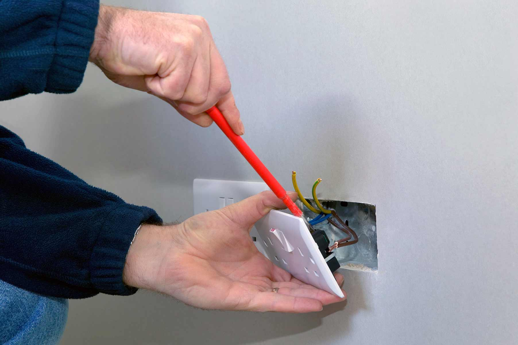 Our electricians can install plug sockets for domestic and commercial proeprties in Oval and the local area.